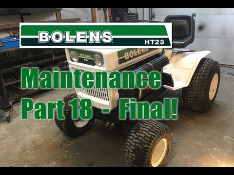 #64 Bolens Maintenance - Part 18