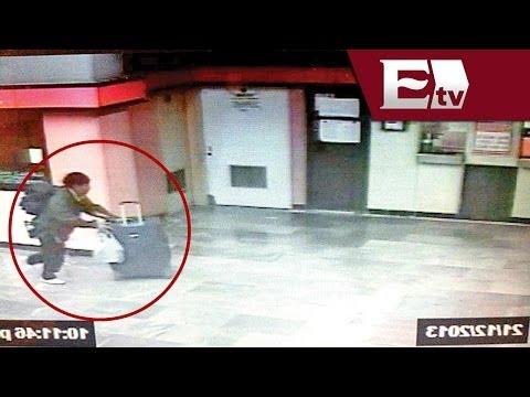 VIDEO: Imágenes del hombre que abandonó cuerpo de una mujer dentro de una maleta