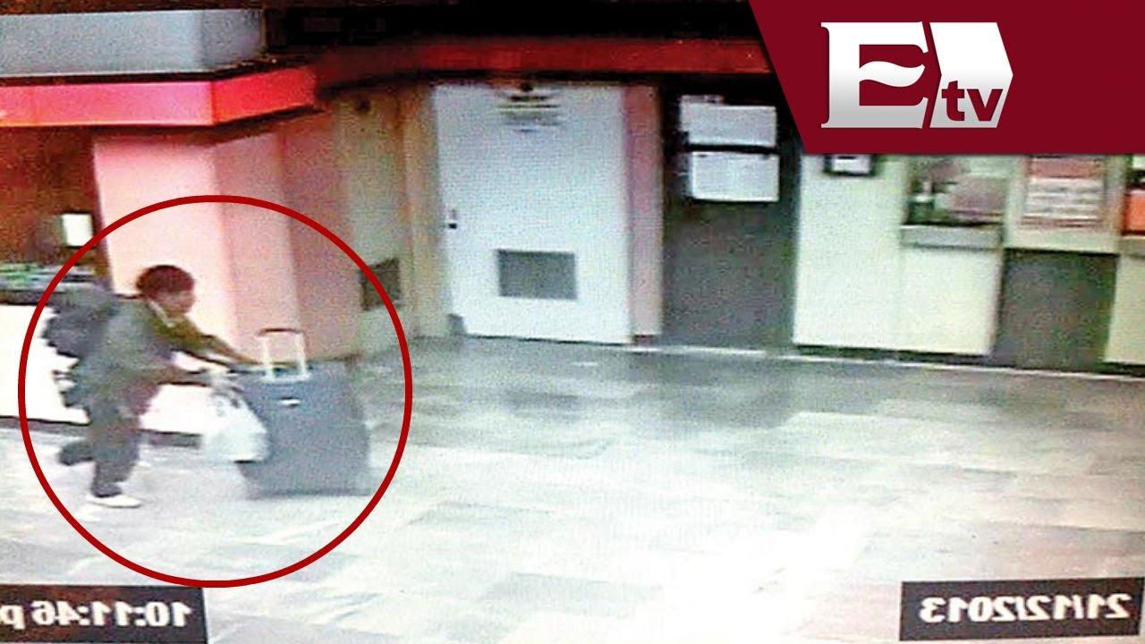 VIDEO: Imágenes del hombre que abandonó cuerpo de una mujer dentro ...