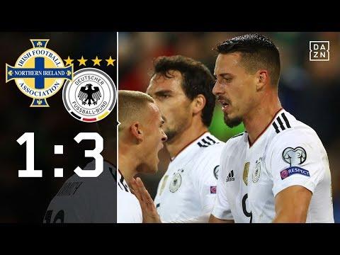 Rudy-Traumtor! DFB-Team sichert WM-Ticket   Nordirland - Deutschland 1:3   Highlights   WM-Quali