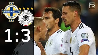 Rudy-Traumtor! DFB-Team sichert WM-Ticket | Nordirland - Deutschland 1:3 | Highlights | WM-Quali