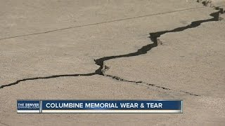 Columbine Memorial wear and tear