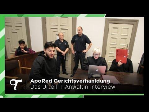 Die ApoRed Gerichtsverhandlung: Das Urteil + Statement der Anwältin von ApoRed!