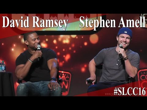 Stephen Amell and David Ramsey - Full Panel/Q&A - SLCC 2016