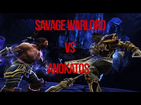 Savage Warlord vs Anokatos Very Hard Difficulty | Kingdoms of Amalur: Re-Reckoning |