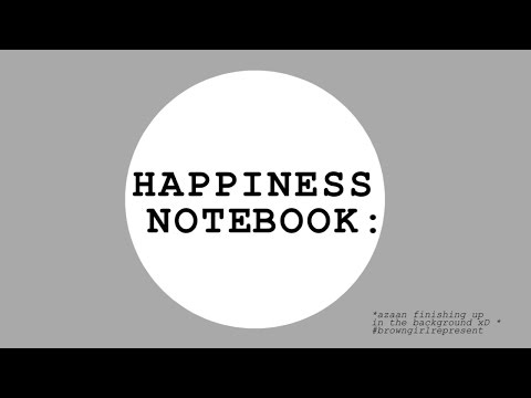 💚 Happiness Notebook | My Alternative to a Bullet Journal