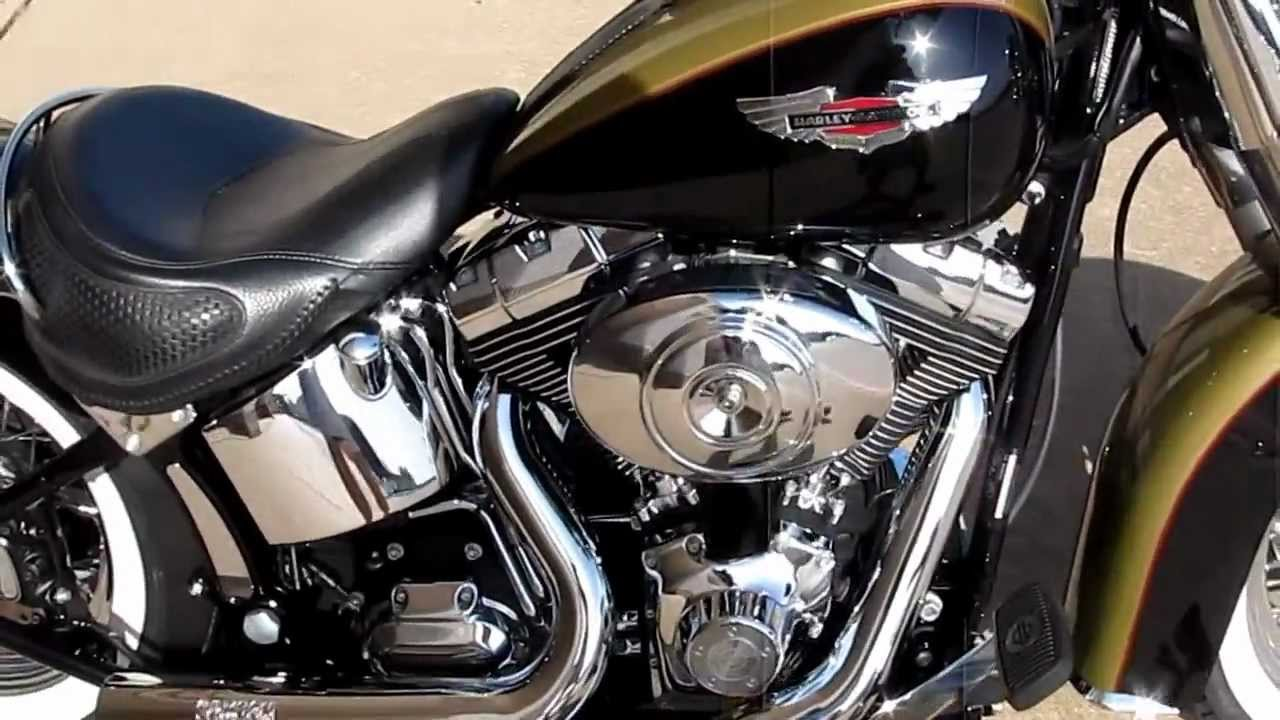 Harley Softail Deluxe, Vance & Hines short shots, hear it run, for sale in  Texas