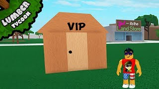 *new* VIP ROOM in LUMBER TYCOON 2!! - Roblox
