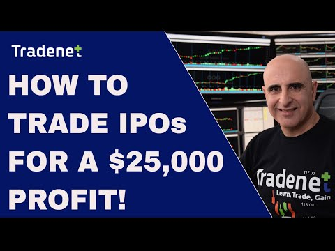 How to Trade IPOs for a $25,000 Profit