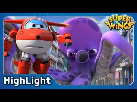 It came from Hong Kong | SuperWings Highlight | S2 EP01