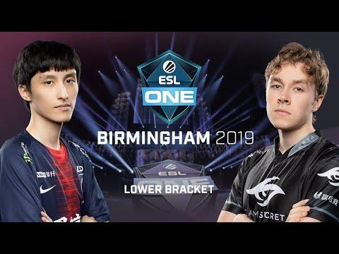 PSG.LGD vs Team Secret - ESL One Birmingham - Game 1