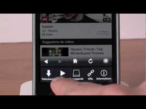 ProTube - Télécharger des vidéos sur Youtube et les enregistrer dans votre iPhone et iTouch IOS 5