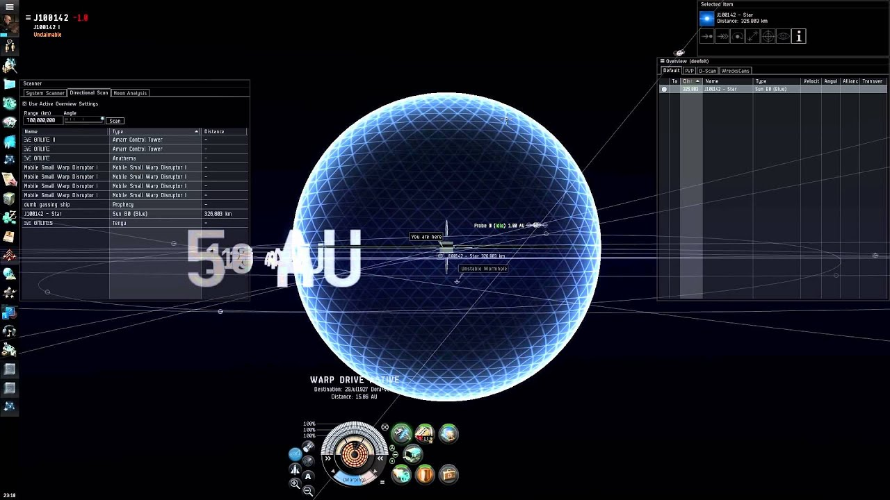 Eve online local scan