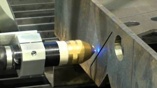 CombiCut Robot 3D plasma cutting .mpg