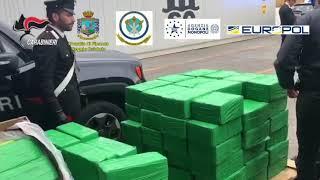 Gambar cover La cocaina della 'ndrangheta sequestrata a Gioia Tauro: una tonnellata nel porto