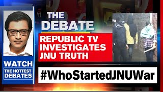 What's The Truth Behind JNU Violence? | The Debate With Arnab Goswami
