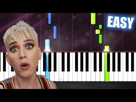 Katy Perry - Swish Swish ft. Nicki Minaj - EASY Piano Tutorial  PlutaX