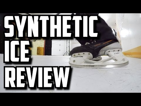 Synthetic Ice Review - HockeyShot Extreme Glide