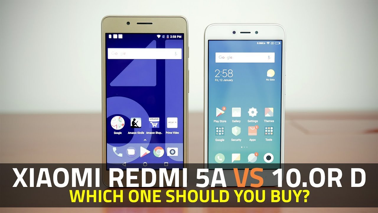 001fb6ce0407 Xiaomi Redmi 5A vs 10.or D  Which One Should You Buy  - YouTube