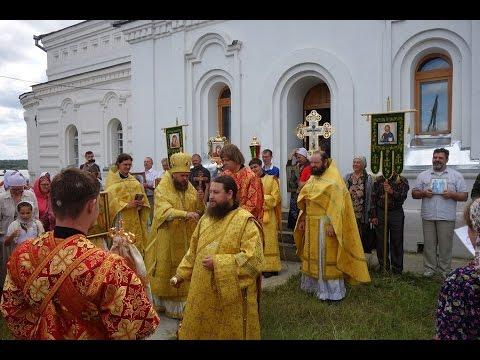 Литургия в храме свв  апп  Петра и Павла села Чингисы епископ Филипп