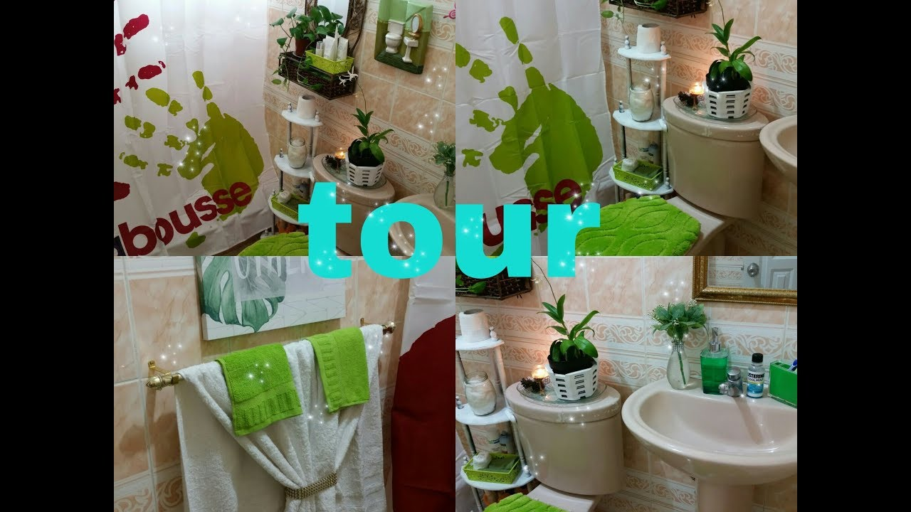 Decorando mi peque o ba o tour por mi ba o ideas de como for Como remodelar un bano pequeno