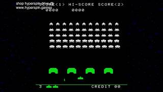 Hyperspin Space Invaders MAME Arcade Games