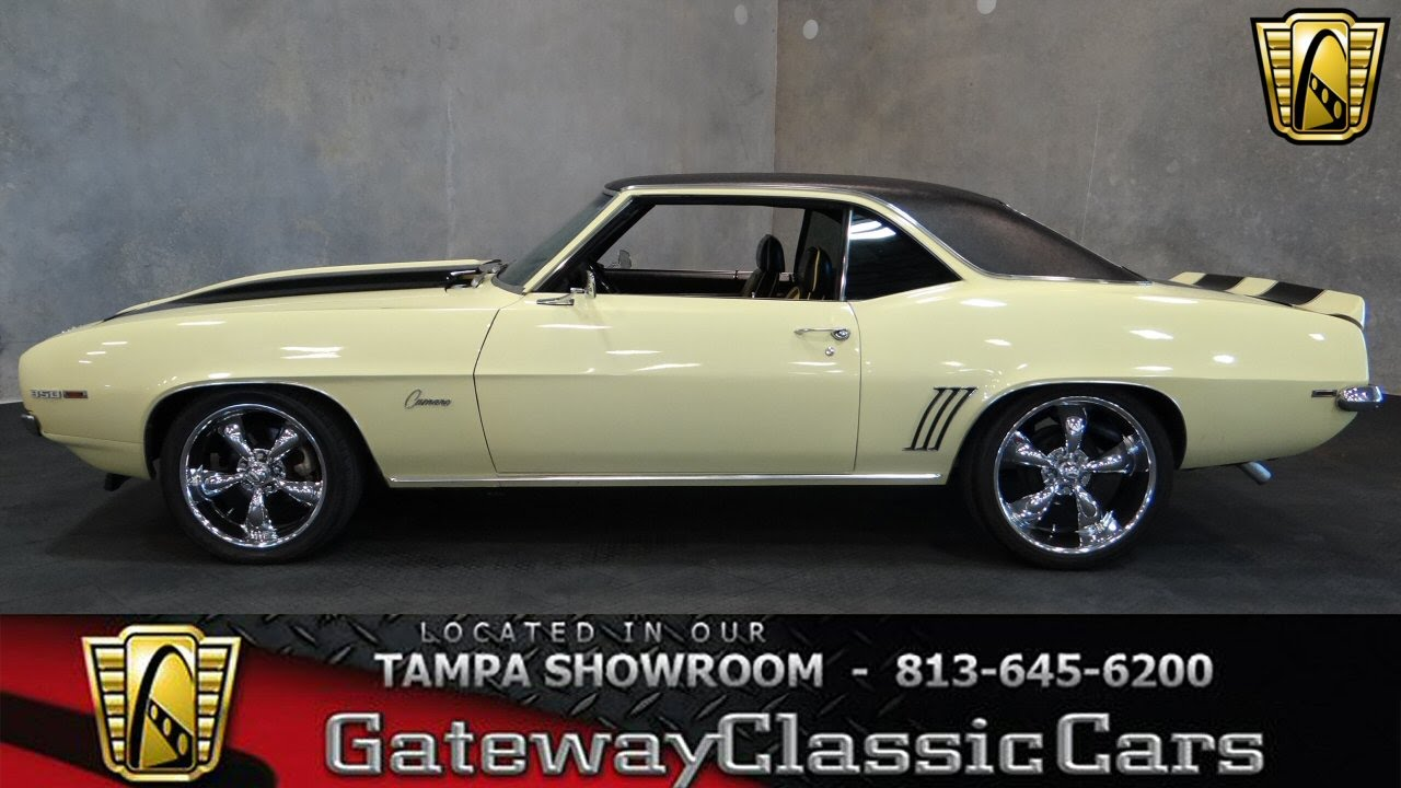 1969 Chevrolet Camaro SS Gateway Clic Cars Tampa #216 - YouTube