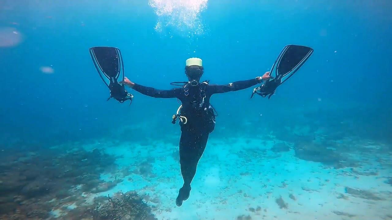 scuba diving pierdere de grăsime