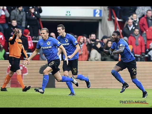 2016-2017 - Standard - Club Brugge - GOAL Ruud Vormer