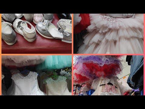 Рынок Садовод Детские Платье и Обувь для девочек Цены