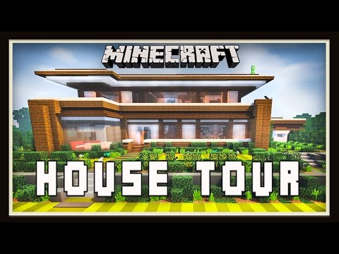 Minecraft: Modern House Tour - YoutubeDownload pro