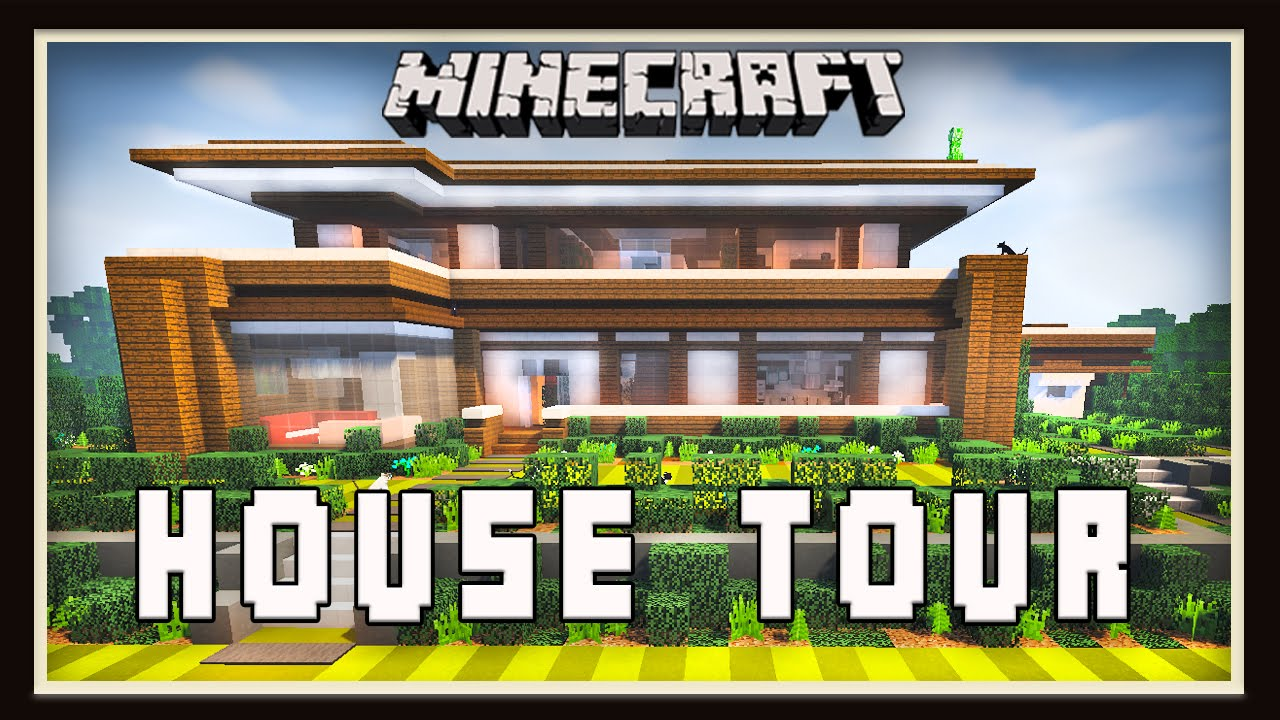 Minecraft: Modern House our - Youube - ^