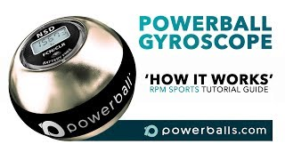 What is a Powerball gyroscope and how does it work - RPM Sports tutorial guide