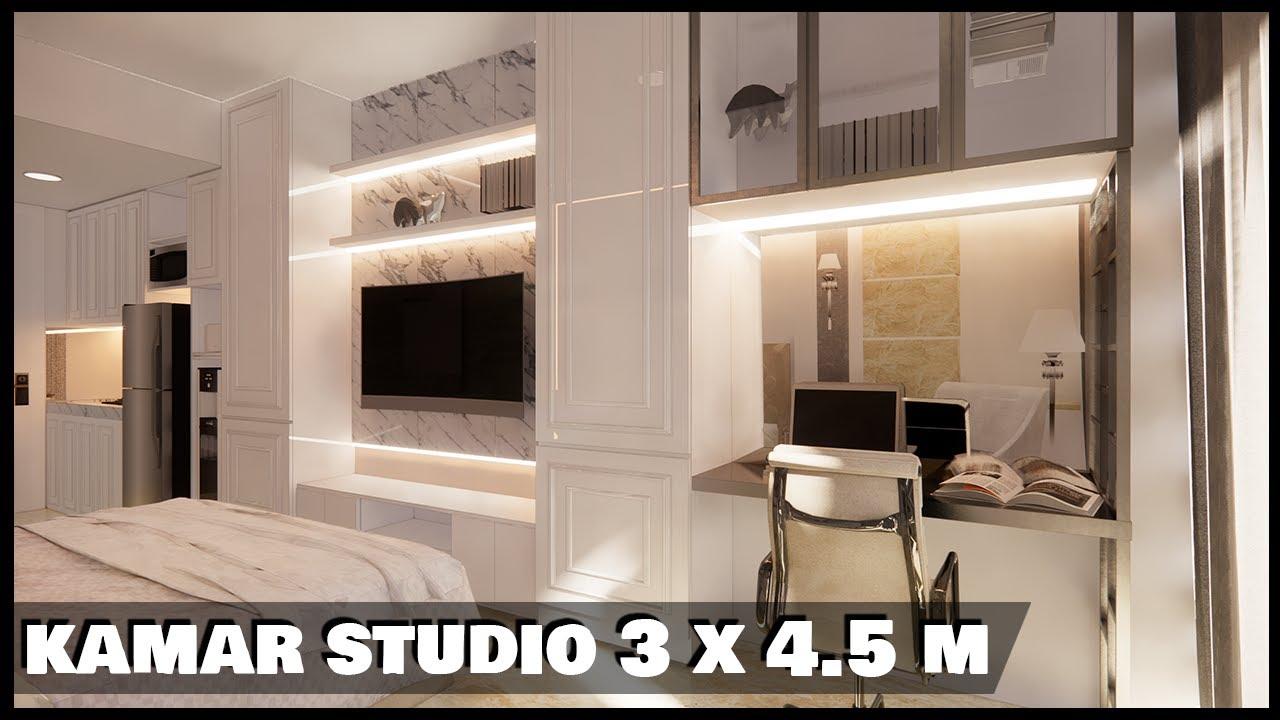 Desain Kamar Tidur Utama Mewah Interior Rumah Minimalis Youtube