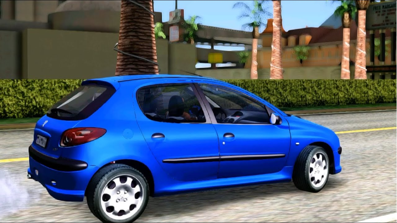 GTA San Andreas - Peugeot 206 Four Door EnRoMovies