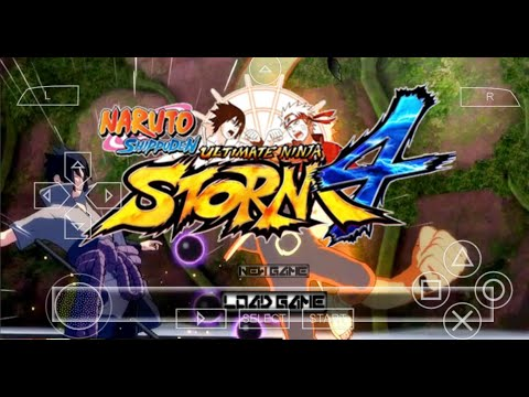 New Naruto Ultimate Ninja Storm 4 PSP Mod Download 2020