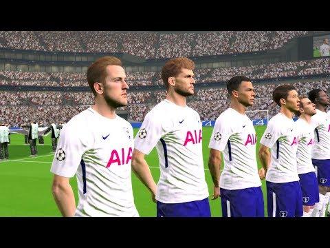 Tottenham Hotspur vs Borussia Dortmund UCL 13/09/2017 Gameplay