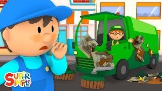 Steve's Street Sweeper Needs a Good Wash | Carl's Car Wash | Cartoons For Kids
