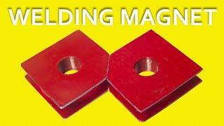 Make A Welding Magnet Square [Using Speaker Magnets][DIY]