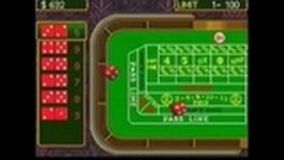 SEGA Casino Nintendo DS Gameplay - Craps