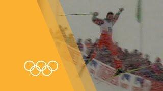 Olympics: Edgar Grospiron -