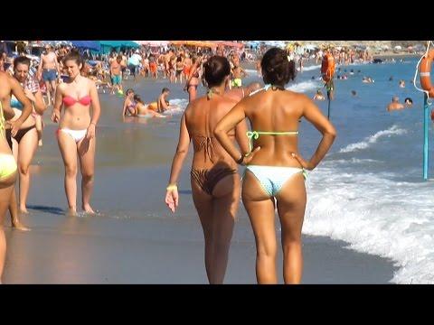 Maronti Beach Ischia Italy. August 2014
