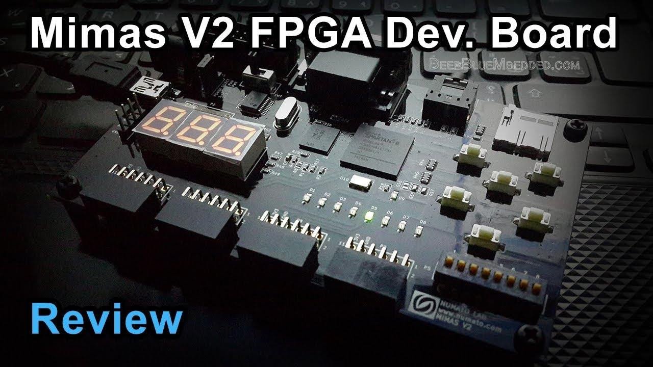 Mimas V2 FPGA Development Board | Review – DeepBlue
