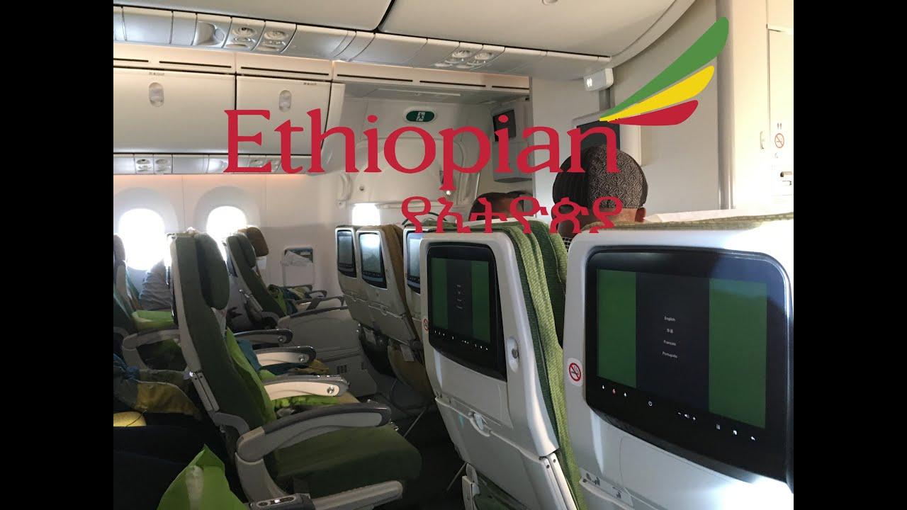 TRIP REPORT Ethiopian Airlines Economy 7878