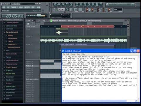 FL Studio Căn Bản 3 - Automation Clip clubdjvn.com