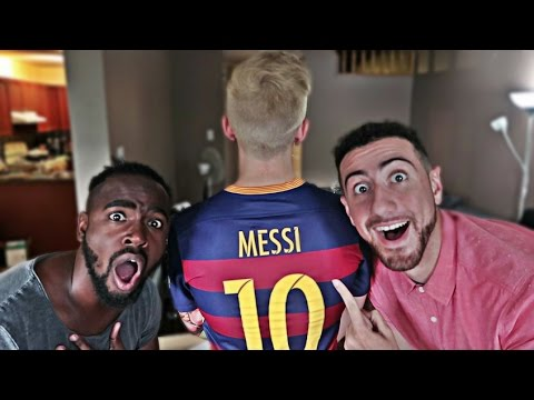 LIONEL MESSI VISITS THE ALBOE HOUSE!!