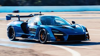 RAW MCLAREN SENNA HOT LAPS AT PAUL RICARD!! | NICO ROSBERG | UNCUT