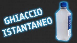 Ghiaccio istantaneo...! (ft. La Chimica per tutti)