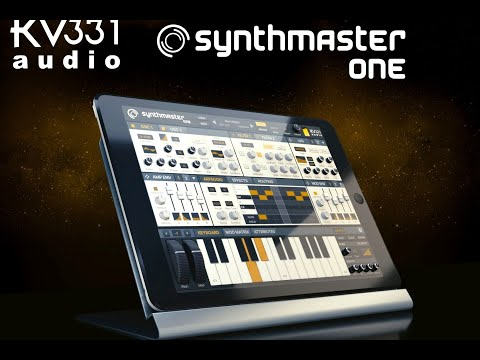 SynthMaster One Universal iOS App by KV331 Audio is FREE until the 15th April 2020