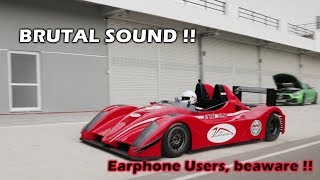 Formula 2000 Car on the Chennai Race Track | EXTREMELY LOUD